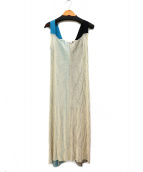 CINOH(チノ)の古着「ニットジャンパースカート」|アイボリー