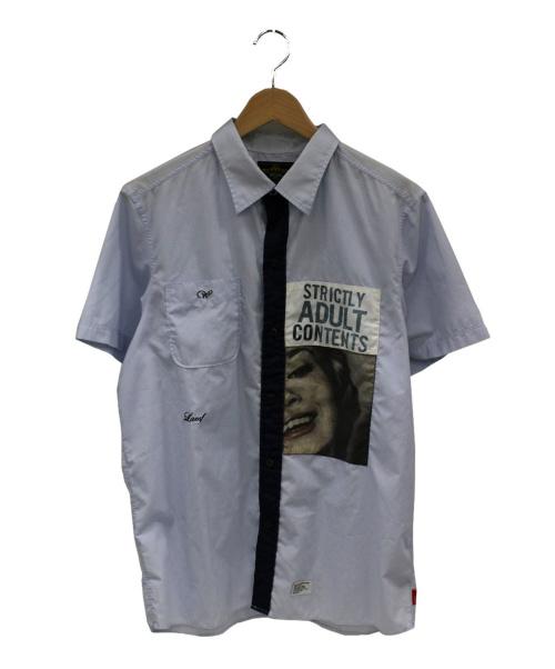 WTAPS(ダブルタップス)WTAPS (ダブルタップス) 半袖シャツ スカイブルー サイズ:L LAMF期の古着・服飾アイテム