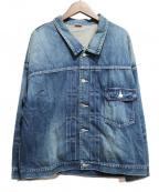 MAISON EUREKA(メゾン エウレカ)の古着「デニムジャケット」|インディゴ