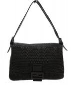 FENDI(フェンディ)の古着「マンマバケットバッグ」|ブラック