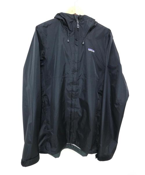 Patagonia(パタゴニア)Patagonia (パタゴニア) トレントシェルジャケット ブラック サイズ:Sの古着・服飾アイテム