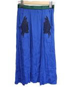TOGA PULLA(トーガ プルラ)の古着「スカート」|ブルー
