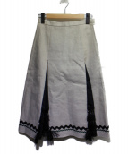 TOGA PULLA(トーガ プルラ)の古着「スカート」|ベージュ