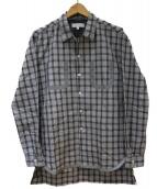 portvel(ポートヴェル)の古着「リフレクタートリムシャツ」|グレー