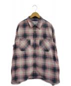 JOHN MASON SMITH(ジョンメイソンスミス)の古着「オープンカラーシャツ」
