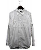 ATLAST & CO(アットラスト)の古着「ワークシャツ」|ホワイト