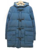 CAPE HEIGHTS(ケープハイツ)の古着「ダウンコート」|ブルー