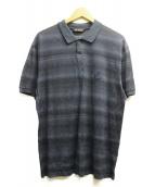 VERSACE(ヴェルサーチ)の古着「ポロシャツ」|ネイビー
