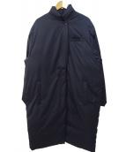 mizuiro-ind(ミズイロインド)の古着「ダウンコート」|ネイビー