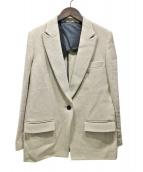 AP STUDIO(エーピーステゥディオ)の古着「コットンリネンTWEEDジャケット」|ベージュ
