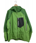 mont-bell(モンベル)の古着「ダイナアクションパーカー」|黄緑