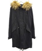 IROQUOIS(イロコイ)の古着「メルトンモッズコート」|グレー