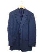 BRIONI(ブリオーニ)の古着「テーラードジャケット ジャケット」|ネイビー