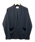 WRAPINKNOT(ラッピンノット)の古着「ウォータープルーフカーディガン」|ブラック