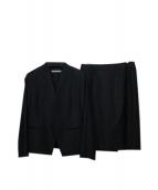 theory luxe(セオリーリュクス)の古着「スカートスーツ」|ブラック