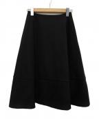 M-premierBLACK(エルプルミエラブラック)の古着「フレアスカート」 ブラック