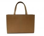 土屋鞄(ツチヤカバン)の古着「ナチューラヌメ革トートバッグ」|ブラウン