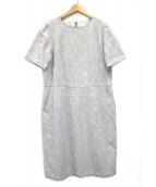 ()の古着「カモフラジャガードドレス」|ライトグレー