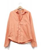 Frank&Eileen(フランクアンドアイリーン)の古着「BARRYシャツ」|オレンジ
