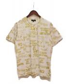 COMME des GARCONS Homme Plus(コムデギャルソンオムプリュス)の古着「総柄Tシャツ」|ホワイト