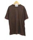 COMME des GARCONS SHIRT(コムデギャルソンシャツ)の古着「バックロゴTシャツ」 ブラウン