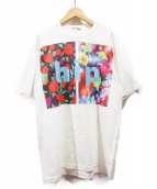 JUNYA WATANABE COMME des GARCONS MAN(ジュンヤワタナベ コムデギャルソン マン)の古着「プリントTシャツ」|ホワイト
