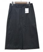 MHL.(エムエイチエル)の古着「スカート」|グレー