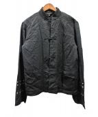 BLACK COMME des GARCONS(ブラックコムデギャルソン)の古着「AD2017/チャイナジャケット」|ブラック