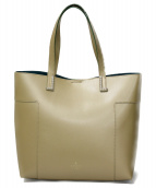 LANVIN en Bleu(ランバン オン ブルー)の古着「アンセルムトートバッグ」|ゴールド