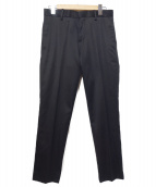 ACNE STUDIOS(アクネステュディオズ)の古着「センタープレスパンツ」|ブラック