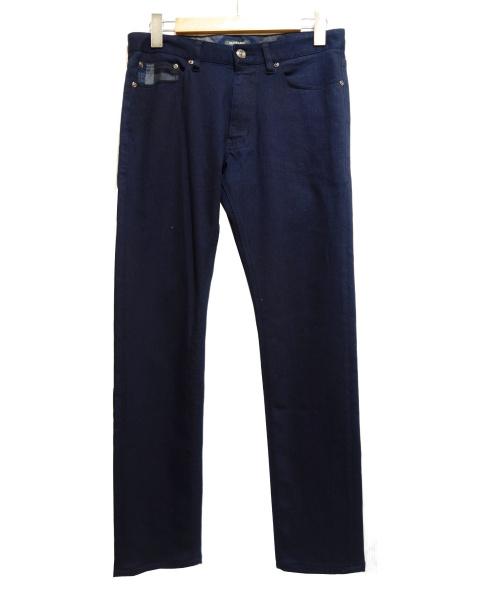 BLACK LABEL CRESTBRIDGE(ブラックレーベル・クレストブリッジ)BLACK LABEL CRESTBRIDGE (ブラックレーベルクレストブリッジ) ストレッチパンツ ネイビー サイズ:73の古着・服飾アイテム