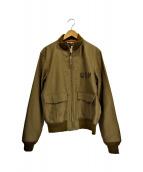 THE REAL McCOYS(リアルマッコイズ)の古着「37J1フライトジャケット」|オリーブ