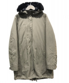 Comptoir des Cotonniers(コントワーデコトニエ)の古着「ダウンライナー付コート」|オリーブ