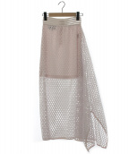 Designers Remix Charlotte Eskildsen(デザイナーズリミックス シャーロット エスキルドセン)の古着「メッシュスカート」