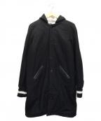 skookum(スクーカム)の古着「LONG HOOD COAT」 ブラック