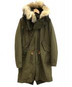 MARKA(マーカ)の古着「ライナー付きモッズコート」|オリーブ