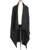 LIMI feu(リミフゥ)の古着「ロングカーディガン」|ブラック