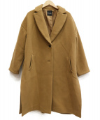 ROSSO(ロッソ)の古着「スリットコート」|ブラウン