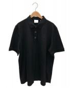 BURBERRY(バーバリー)の古着「MALLECOポロシャツ」|ブラック