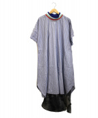 FRAPBOIS(フラボア)の古着「スイボクワンピース」|ブルー