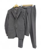 Errico Formicola(エリコフォルミコラ)の古着「3Bスーツ」|グレー