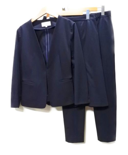 UNTITLED(アンタイトル)UNTITLED (アンタイトル) ネオカトレアスーツ ネイビー サイズ:ジャケット1 パンツ・スカート2の古着・服飾アイテム
