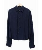 tricot COMME des GARCONS(トリコ コムデギャルソン)の古着「シャドードットシャツ」 ネイビー