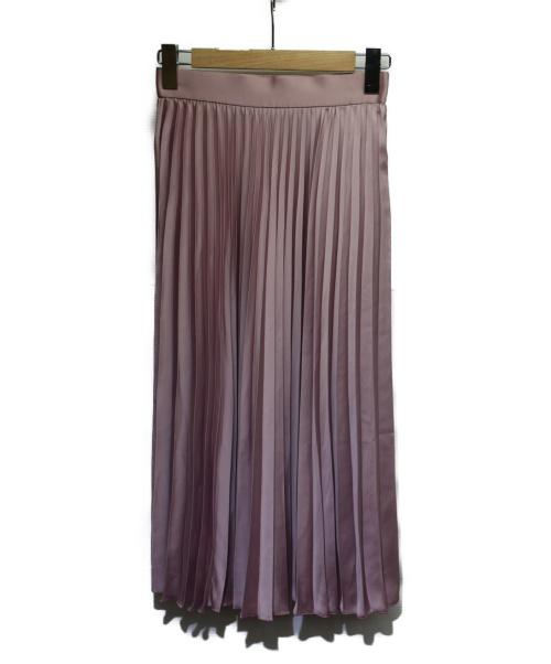 Jewel Changes(ジュエルチェンジズ)Jewel Changes (ジュエルチェンジズ) プリーツスカート ライラック サイズ:36 未使用品の古着・服飾アイテム