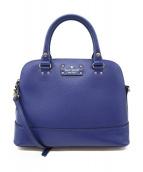 Kate Spade(ケイトスペード)の古着「2WAYバッグ」|ブルー