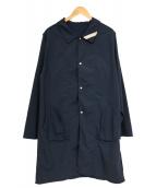 PHINGERIN(フィンガリン)の古着「ステンカラーコート」|ネイビー