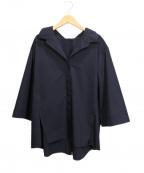 styling/ kei shirahata(スタイリング / ケイ シラハタ)の古着「スキッパーシャツ」 ネイビー