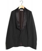 CINOH(チノ)の古着「スリットスーツジャケット」|ブラック
