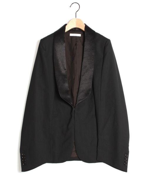 CINOH(チノ)CINOH (チノ) スリットスーツジャケット ブラック サイズ:38の古着・服飾アイテム