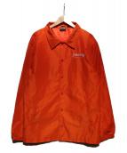 THRASHER(スラッシャー)の古着「コーチジャケット」 オレンジ